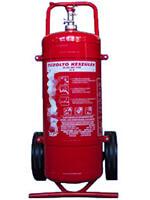 Szállítható, porral oltó tűzoltó készülék - 50kg