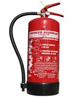Porral oltó tűzoltó készülék - 6kg